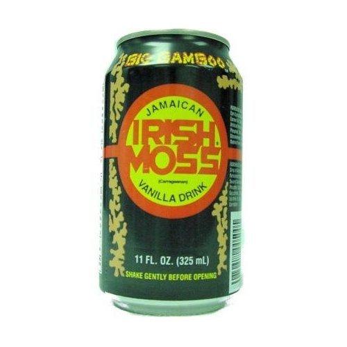 Beverage, Vanilla Moss , 11 oz (pack of 24 ) by Irish Moss