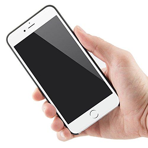 "QUADOCTA iPhone 6s PLUS (5,5"") Ultra Slim Case - Schutzhülle - ""Tenuis"" in Rot - Ultra dünne iPhone Hülle - Leicht transparentes Case"