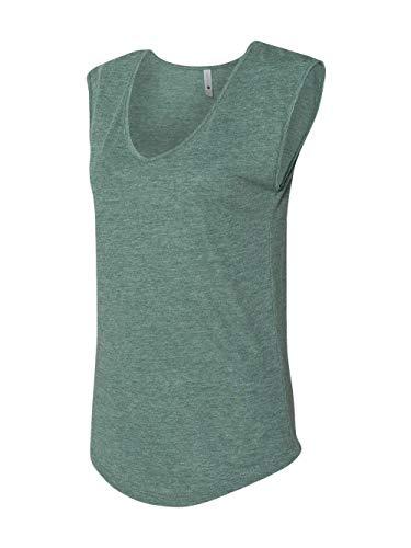 Ringspun T-shirt Sleeveless (Next Level Women's Festival Sleeveless V - 5040)