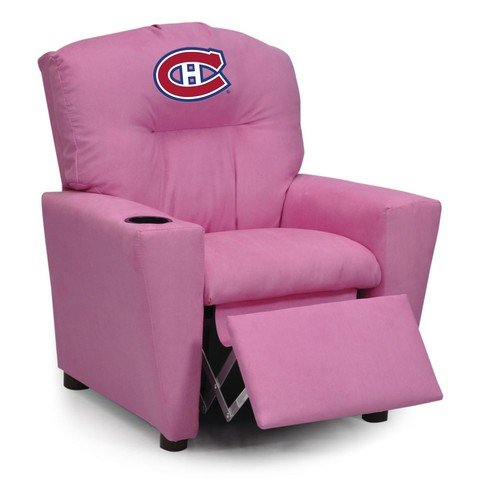 NHL Montreal Canadiens Kids Recliner, One Size, Pink by Imperial
