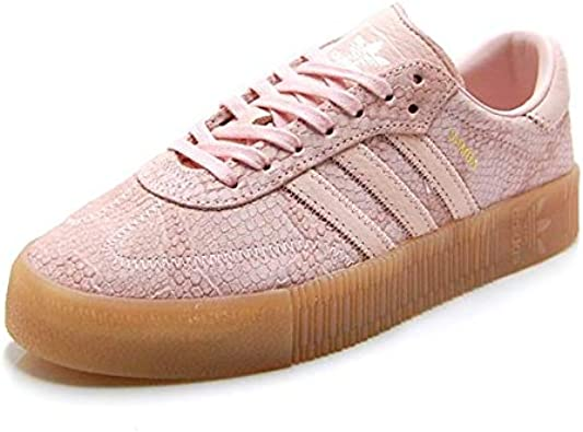 agenda Espinoso Equivalente  Amazon.com | adidas Womens Samba Rose Sneakers, | Fashion Sneakers