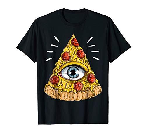 Shane Dawson All-Seeing Eye Pizza T-shirt