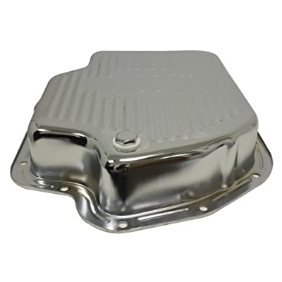 Chevy/GM Turbo TH-400 Steel Transmission Pan (Deep Sump) - Chrome: Automotive