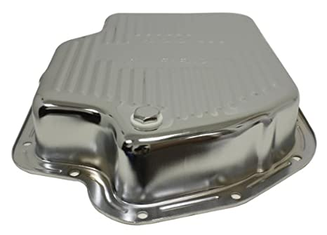 400 Turbo Transmission >> Chevy Gm Turbo Th 400 Steel Transmission Pan Deep Sump Chrome