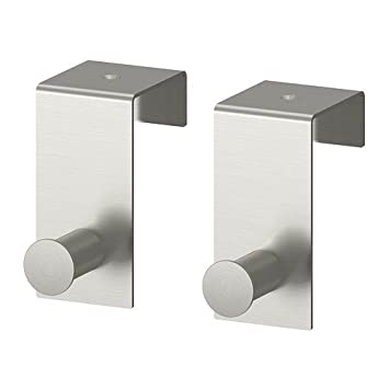 Ikea GRUNDTAL - Gancho para Puerta, de Acero Inoxidable / 2 ...