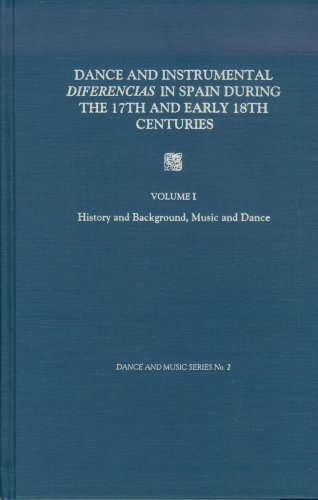Descargar Libro Dance And Instrumental Diferencias In Spain During The 17th And Early 18th Centuries: History And Background, Music And Dance V. 1 Maurice Esses