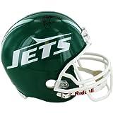 NFL New York Jets John Riggins Signed Authentic Green Throwback 78-89 Helmet