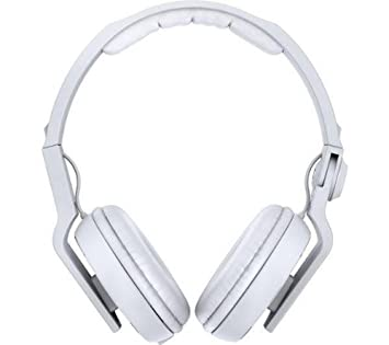 Pioneer Cascos DJ HDJ-500 - Color blanco + Adaptador auriculares 3,5 mm