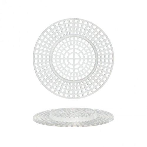 """PVC Plastic Canvas Shapes 7 Count 3"""" 10/Pkg-Circles Clear"""