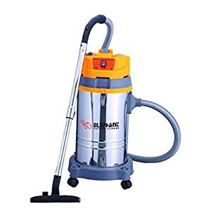 Elephant 35L Wet and Dry Industrial Vacuum Cleaner 35 Litre 1500W with Blower includes High Suction Power Stainless…