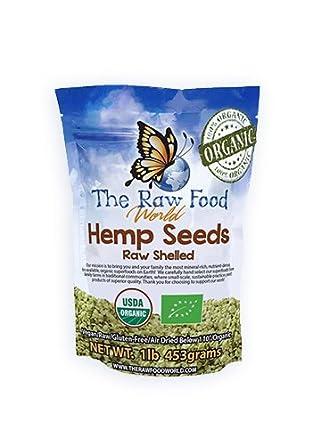 Semillas de cañamo organicas Certificadas, 454 gramos
