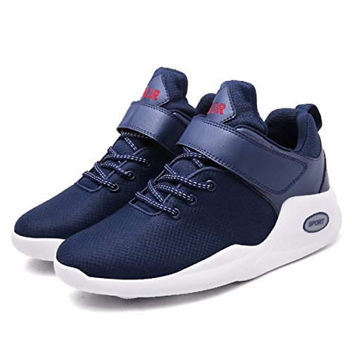 Dark Breathable Air Unisex Casual Running Mid Blue Women Shoes Shoe for Sneakers High CN39 Allstart Performance Atheltic Ankle Basketball Men's Force Sports Trail 4fWcRRgq