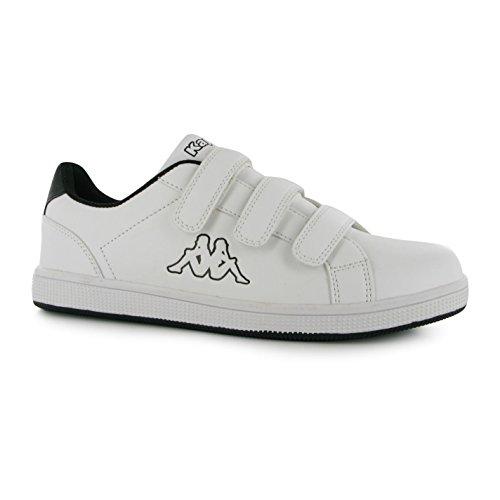 Kappa Maresas 2Baskets pour homme Blanc/BLK Chaussures de sport Sneakers Chaussures