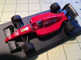 Ferrari 643 F1-91 Jean Alesi, 1:43 Formula 1 '91 Onyx - F1 Collection Ferrari