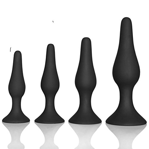 4Pcs/set Pleasure Wand for Man 4 Stage Male Massage Stick with Suction Cup and Sharp Head Smooth Surface Great Male Female Toys Magic Massager for Women Couples