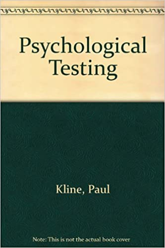 Gratis nedlastbar ebøker epub format Psychological Testing by Paul