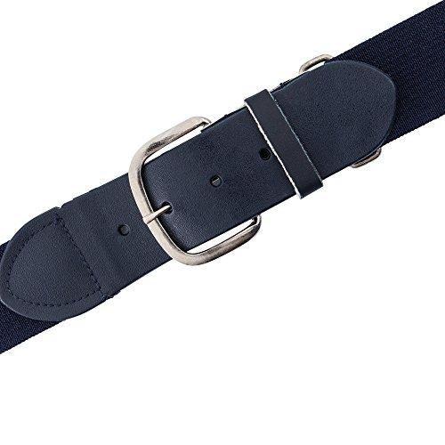 navy baseball belt - 1