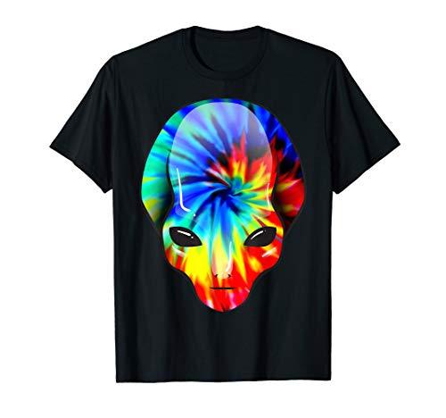 Tie Dye Alien Shirt | Funny I Am A Free Spirit T-shirt Gift
