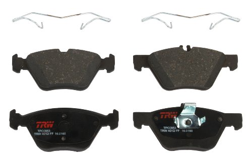 Chrysler Crossfire Brake Disc (TRW TPC0853 Premium Ceramic Front Disc Brake Pad Set)