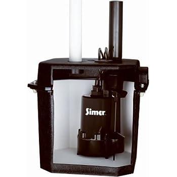 Zoeller 105-0001 Sump Pump, 12.50 x 14.50 x 14.50 inches