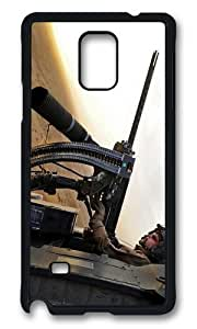Adorable black hawk doorgunnner Hard Case Protective Shell Cell Phone Cover For Samsung Galaxy Note 4 - PCB WANGJING JINDA