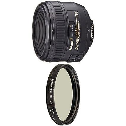 Nikon AF-S FX NIKKOR 50mm f//1.4G Lens with Auto Focus for Nikon DSLR Cameras