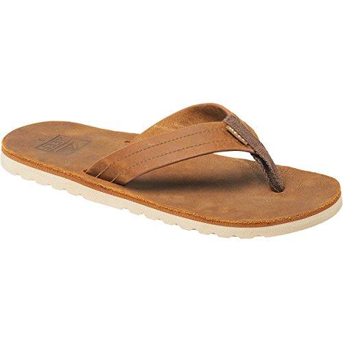 Reef Men's Voyage Le Sandal, Bronze/Brown, 8 M (Reef Rubber Sole Sandals)