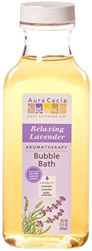Aura Cacia Bubble Bath Relaxing Lavender, 13 oz