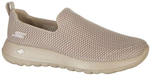 Skechers GO Walk Max Mens Slip On Walking Sneakers Taupe 9