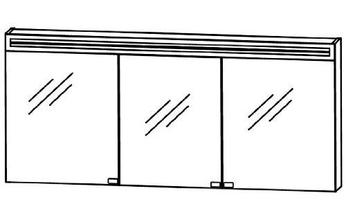 Puris Star Line 2d Spiegelschrank S2a58165 Badmobel 160 Cm Kaufen