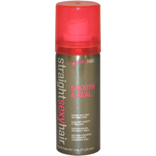 Straight Sexy Hair Smooth and Seal Spray By Sexy Hair for Unisex , 1.3 Ounce