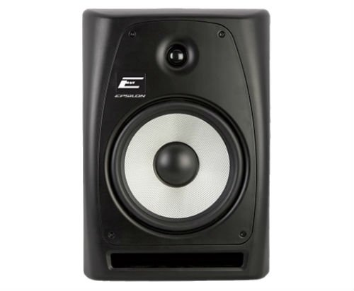 Epsilon EPM-8.0 8'' 2-Way Powered Studio Monitor - Single (8' 2 Way Monitor Speakers)