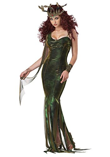 [8eighteen Serpentine Medusa Goddess Adult Costume] (Medusa Childs Halloween Costume)