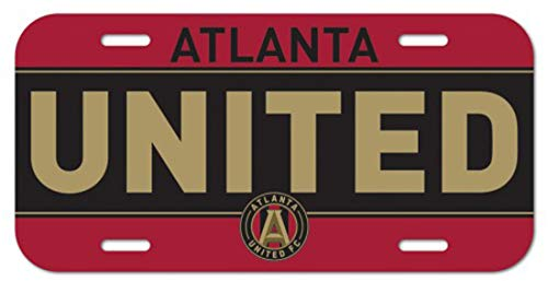 United License Plate - Wincraft MLS Atlanta United FC Plastic License Plate