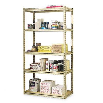 (Tennsco Corporation LSS-361872 Industrial Grade Stur-D-Stor Shelving Package, 5 Shelves, 36