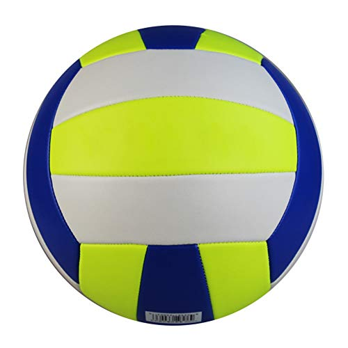 Balight Volleyball Ball Indoor Outdoor Volley Game Training Soft Touch Leather Volleyball Ball Official Size 5 Volleyball with Needle