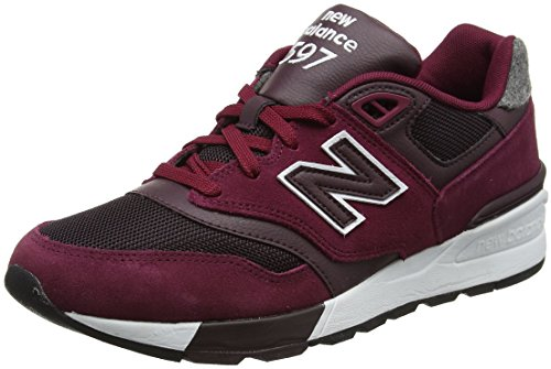 New Balance Heren 597 Lifestyle Fashion Sneaker Sedona Rood / Supernova Rood
