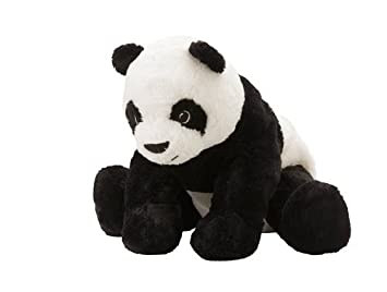 1 X Ikea Kramig Panda Teddy Bear Stuffed Animal Childrens Soft Toy Play by IKEA,