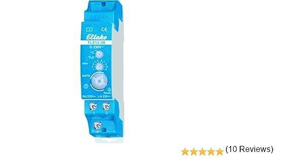 Eltako TLZ12-9E-230V - Minutero de escalera 230 V: Amazon.es: Iluminación