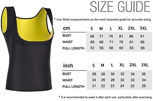 IFLOVE Body Shaper Sauna Slimming Vest for Women Waist Trainer Hot Sweat Suit Workout Shapewear Neoprene Compression Shapers Tank Top Thermal Shirt