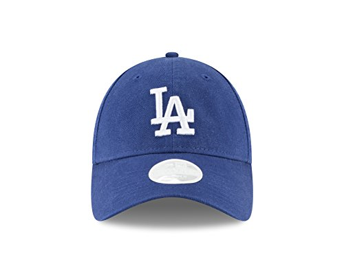 (New Era Los Angeles Dodgers Women's Logo Core Classic Twill Team Color 9TWENTY Adjustable Hat Royal)