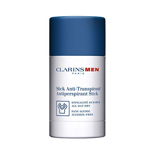 Antiperspirant Deo Stick by Clarins for Men - 2.6 oz Deodorant - Anti Deodorant Clarins Men Stick Perspirant
