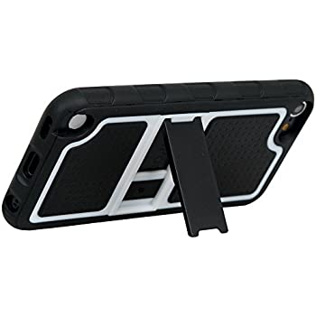 iPod touch iSee Case (TM) Candy Slim Fit Grip TPU Kickstand Full Cover  sc 1 st  Amazon.com & Amazon.com: iPod Touch iSee Case (TM) Rugged Hybrid Kickstand ... pezcame.com