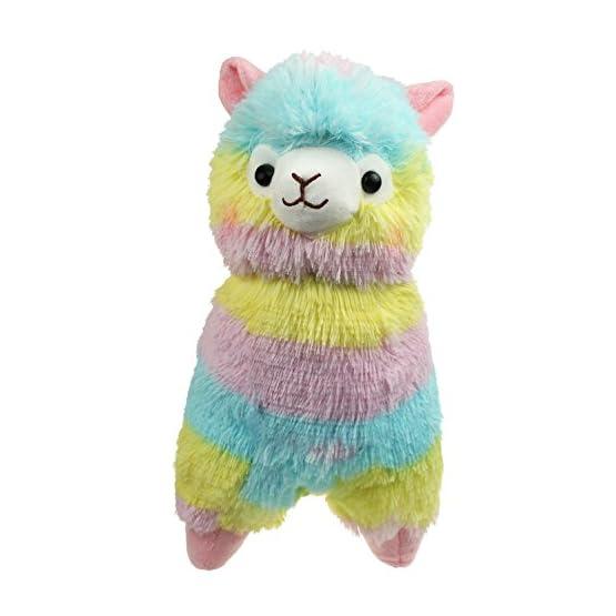 Alpacasso - Rainbow Plush Alpaca - 14 Inch 3