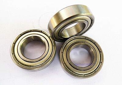 Sealed Inch Bearings (FidgetGear 2pcs New R8ZZ Inch Ball Bearing Metal Sealed Shield 1/2