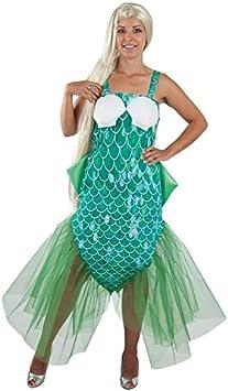 DISBACANAL Disfraz de Sirena para Mujer - -, S: Amazon.es ...