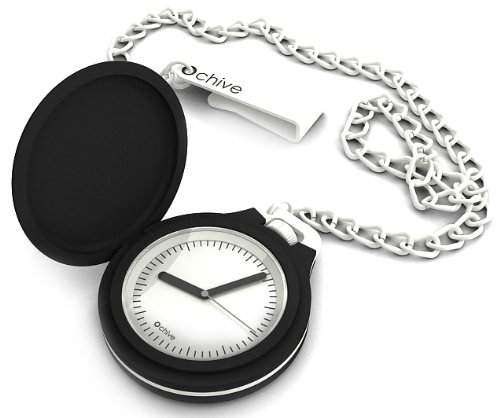 O clock CHIVE.NS - Reloj de bolsillo analógico de cuarzo unisex: Amazon.es: Relojes