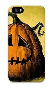 Halloween Jolly pumpkin 3D Case iphone 5 custom case for Apple iPhone 5/5S
