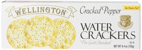 Wellington Cracked Pepper Crackers, 4.4-Ounces (Pack of - Smoked Crackers Salmon