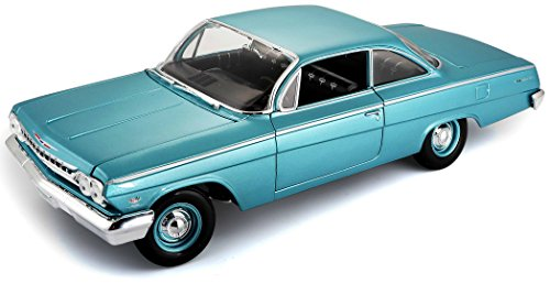- Maisto 1:18 Scale 1962 Chevy Bel Air Diecast Vehicle (Colors May Vary)